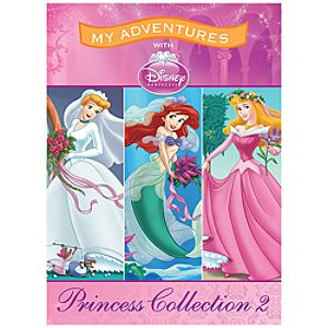 Disney Princess Collection 2 Personalized Book -- Standard Format