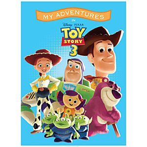 Toy Story 3 Personalized Book -- Standard Format