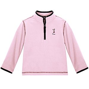 Personalized Zip Fleece Minnie Mouse Pullover for Women