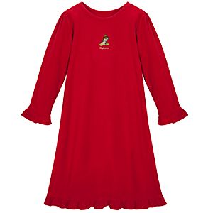 Personalized Fleece Belle Nightgown for Girls