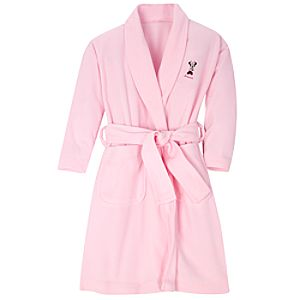 Personalized Fleece Minnie Mouse Robe for Girls
