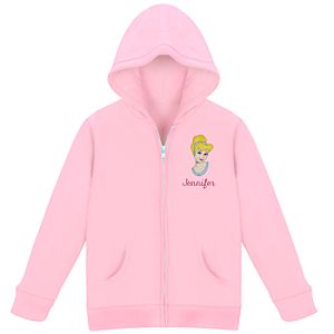 Personalized Zip Cinderella Hoodie for Kids