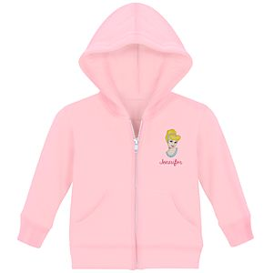 Personalized Zip Cinderella Hoodie for Infants and Toddlers