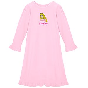 Personalized Fleece Aurora Nightgown for Girls