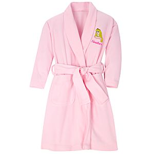 Personalized Fleece Aurora Robe for Girls