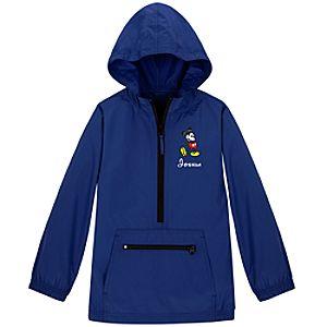 Personalized Mickey Mouse Windbreaker Jacket for Kids