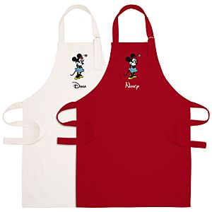 Personalized Minnie Mouse Apron for Adults