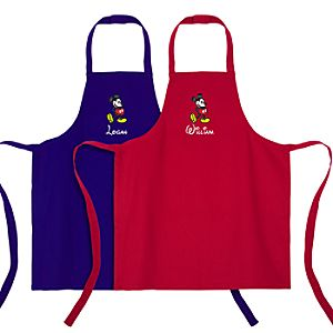 Personalized Mickey Mouse Apron for Kids