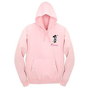 Personalized Minnie Mouse Hoodie Sweatshirt for Adults