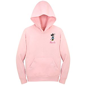 Personalized Minnie Mouse Hoodie Sweatshirt for Kids