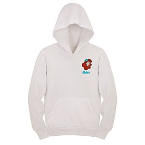 Personalized Ariel Hoodie Sweatshirt for Kids