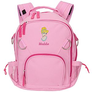 Personalized Cinderella Backpack -- Small