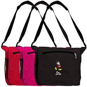 Personalized Mickey Mouse Messenger Bag -- Large
