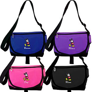 Personalized Mickey Mouse Messenger Bag