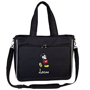 Personalized Mickey Mouse Laptop Tote