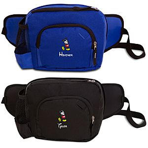 Personalized Mickey Mouse Hip Pack with Bottle Holder