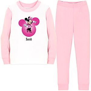 Personalized Minnie Mouse PJ Pal for Girls