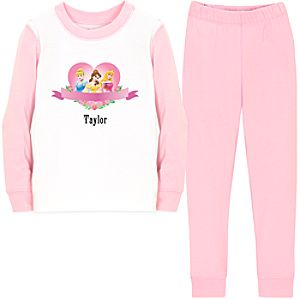 Personalized Disney Princess PJ Pal for Girls