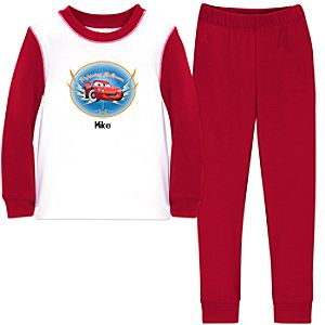 Personalized Lightning McQueen PJ Pal for Boys