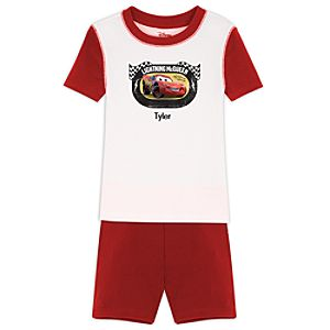 Personalized Short Lightning McQueen PJ Pal for Boys
