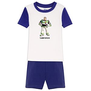 Personalized Short Buzz Lightyear PJ Pal for Boys