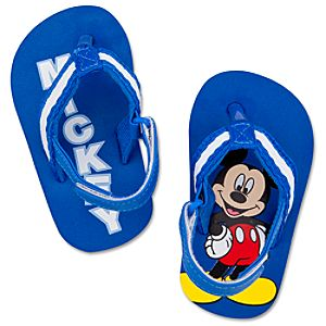 Mickey Mouse Flip Flops for Baby Boys