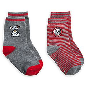 101 Dalmatians Patch Socks for Baby - 2 Pack