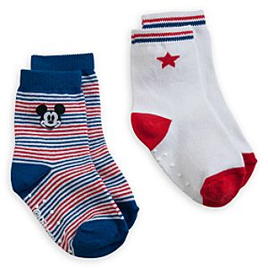 Mickey Mouse 2-Pack Sock Set for Baby