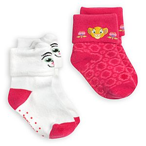 Nala Sock Set for Baby - 2-Pack - The Lion King