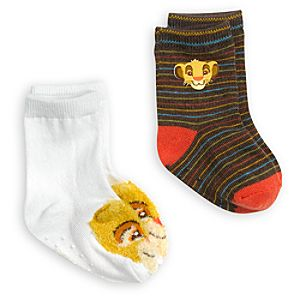 Simba Sock Set for Baby - 2-Pack - The Lion King