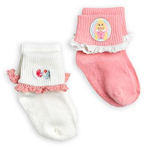 Aurora Sock Set for Baby - 2-Pack - Sleeping Beauty