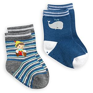 Pinocchio Sock Set for Baby - 2-Pack