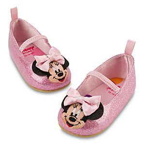 Glittering Fashion Minnie Mouse Shoes for Infants