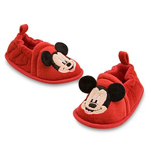 Soft Mickey Mouse Shoes for Babies