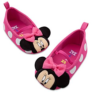 Minnie Mouse Swim Shoes for Baby Girls