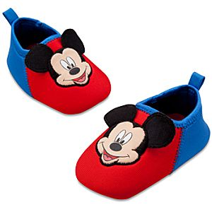 Mickey Mouse Swim Shoes for Baby Boys