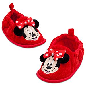 Minnie Mouse Slippers for Baby Girls