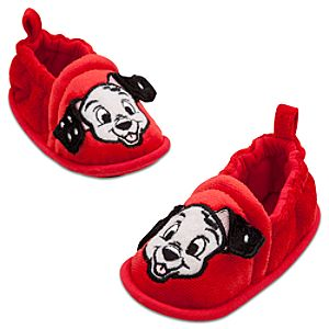 101 Dalmatians Lucky Slippers for Babies