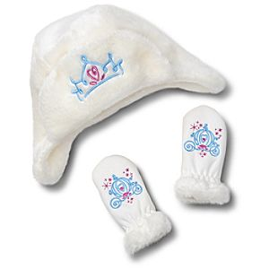 Cinderella Hat and Glove Set for Baby