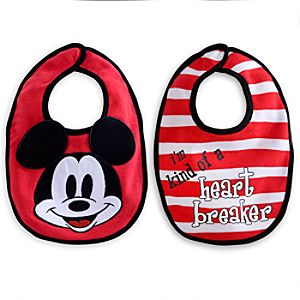 Mickey Mouse Bib Set for Baby