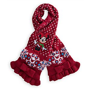 Minnie Mouse Knit Scarf for Baby - Holiday