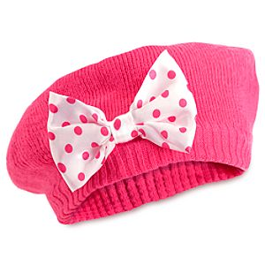 Minnie Mouse Knit Beret for Baby