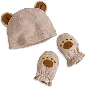 Simba Layette Hat and Mittens Set for Baby