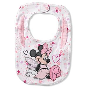 Minnie Mouse Bib for Baby
