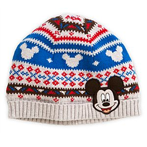 Mickey Mouse Knit Cap for Baby