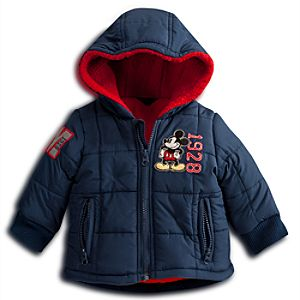 Mickey Mouse Quilted Jacket for Baby - Personalizable