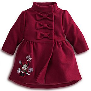 Minnie Mouse Peacoat - Holiday