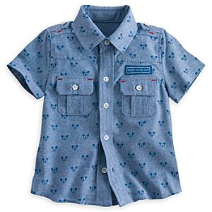 Mickey Mouse Button-Down Shirt for Baby