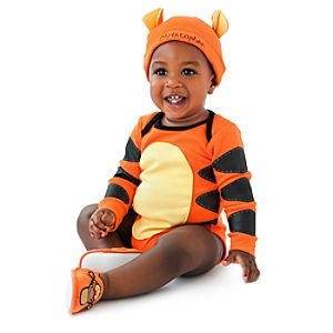 Personalizable Tigger Bodysuit Set for Babies -- 2-Pc.