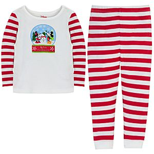 My First Christmas Minnie and Mickey Mouse Set for Babies -- 2-Pc.